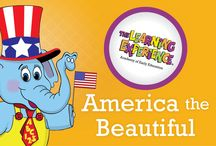 """America the Beautiful at TLE / Students at The Learning Experience start off the year with a tour of the United States. Throughout September, Preschoolers will learn all about why this nation is called """"America the Beautiful."""" Little learners will learn about President Lincoln and the penny as well as the Statue of Liberty and other famous monuments!"""
