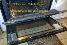 schoonmaken  oven