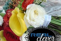 """Real Inspiration / Here's some great ideas we've """"scene"""" at weddings!"""