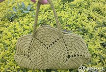 Crochet Bags & Baskets / by Carol (ramblingoftherose.wordpress.com)