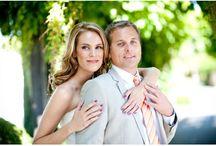 Purple & Orange Wedding Flowers / by Whitney Marsden