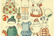 paper dolls / by Cathy Johnson