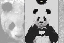 Animal Love Prints for Moto E4 Plus / For all the animals lover out there show off your love for these adorable pandas and foxes through your phone covers.