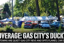 Ducktail Run Hot Rod & Custom Show / Annual fall event in Gas City, Indiana, draws thousands of car enthusiasts during the James Dean Weekend in Grant County.