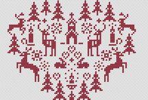 çerağ / Cross stitch works
