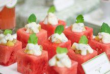 Salat / Vandmelonsalat