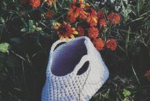 Crochet bags handmade / Crochet bags made with passion. Bags made from cotton yarn and cotton cords