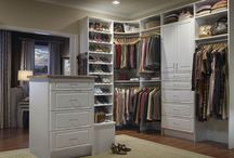 Master Closet Inspiration / Ideas for Built-Ins in Master Closet / by Building a Charmed Life