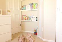 Sofia's bedroom ideas / Shelving