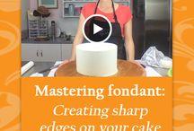 Sharp Edges Cake Fondant