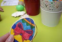 Osterbasteln und Osterevents für Kinder auf Veranstaltungen / Im Shopping-Center, beim Osterbrunch oder sonstigen Osterfeierlichkeiten, Basteln, Backen und Kinderschminken  - zu Ostern ein Muss.