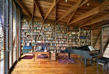Book Nooks/Home Libraries / by Ruth Thomas