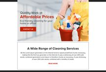 cleaning service ppv landing page