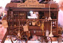 mini carts, wagons, caravans