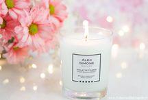 Mes Bougies parfumées / découvertes bougies parfumées (salt city, village candle, dyptique...)