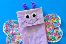 Crafts For Kids / Feeling artsy today? Check out these crafts you can do at home with your family!