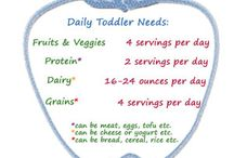 Food groups for 1 year old