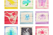 Handprint/Footprint Art Book