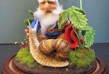 Gnome und Zwerge
