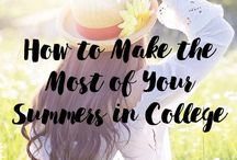 HOW TO: Make the Most of your Summer! / Summer has so many opportunities! Here are a few ideas and how to make the most of your summer.