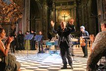 Musica per le dame di San Gregorio / Concerto dell'Ensemble barocco della Nuova Orchestra Scarlatti, con la partecipazione di Cristina Grifone (soprano) e Tommaso Rossi (flauto dolce e traversiere). Sabato 18 ottobre 2014 , Chiesa di San Gregorio Armeno.