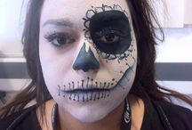 Face painting / Qualified beauty therapist.  Studying hair and media make up.  I love using special effects make up and face paints