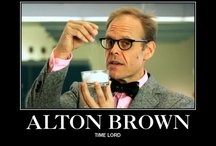 Alton Brown / The Thyme Lord of Culinary Geekiness!  Alton Brown, Good Eats, Cutthroat Kitchen, Feasting on Asphalt, Iron Chef America.