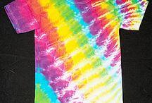 tie die shirts / by Amanda Smith
