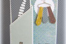 Cartes Marque-page Scrapbooking