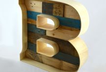 Wood Moments letters