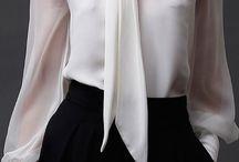 Padrões de blusa