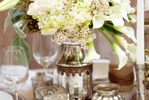 Table arrangements and party decor... / by Holly Perkins