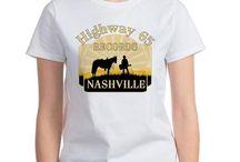Nashville TV show T-shirt Designs / Nashville TV show designs on T-Shirts, pillows, aprons and a lot more.  I love Nashville the show.