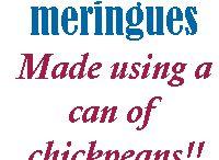 Meringues - Vegan
