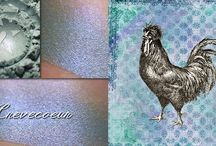 Birds of a Feather, Spring 2016 eyeshadow collection inspired by chickens! / by Aromaleigh Cosmetics