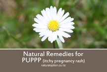 PUPPP Support / Natural Remedies that may help with PUPPPs Pregnancy Rash, and other related support resources