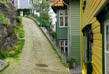 Norwegian houses and homes