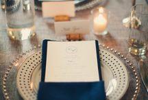 Svatební hostina prostření