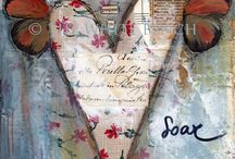 altered books & art journals / by Robbye Lossing