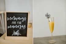 Wedding Inspiration / This board is to give you an idea of what a wedding at The Frock could look like.