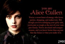 I am Alice Cullen in real always i like Alice and from the movies