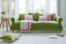 Greenery Inspiration 2017 / Greenery has been crowned Pantone's colour of 2017! It's got us bringing the outdoors in with revitalising, spring-like tones. Here's our inspiration for gorgeous greens for your home, from Olive plush velvet to Pistachio washed cotton linen shown on a few of our favourite sofas, armchairs and more.