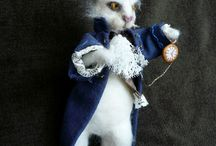 Needle felted - Fairytales / Needle felted dolls inspired from fairytales