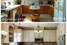 Painted Wood Cabinets