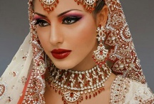 beautiful india girl in a wedding dress