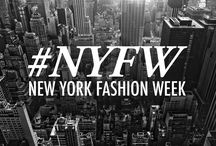 NYFW / Live pins during #NYFW in every Sep and Feb
