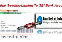 Aadhaar Card Seeding / Seed/link your aadhaar card with bank accounts, lpg copy, gas connection, ration card, voter id