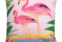 Flamingo home, garden decor & apparel