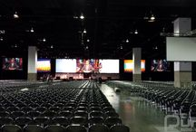 Speaking Presentation at Colorado Convention Centre - June 21, 2015 / A massive presentation for NAA staff with 20K projectors and staging.