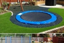 Outside - Play areas and ideas